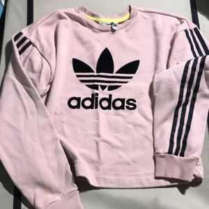 Adidas Tops Crop Top Sweater Poshmark